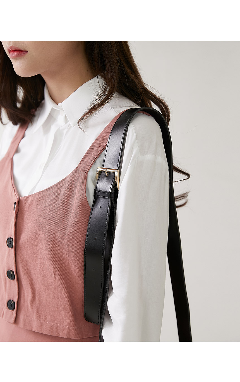 Natto buckle bag