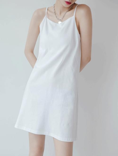 Slim strap nail dress