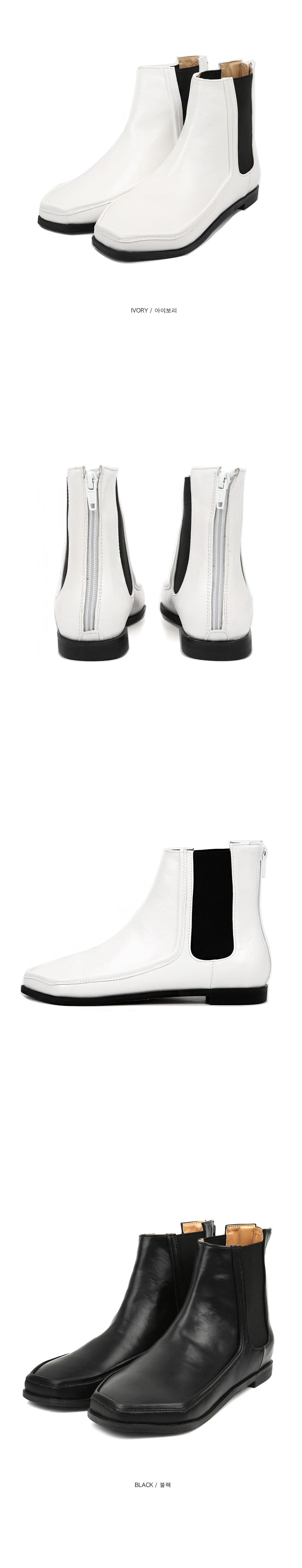 hexagon chelsea boots (2 color)