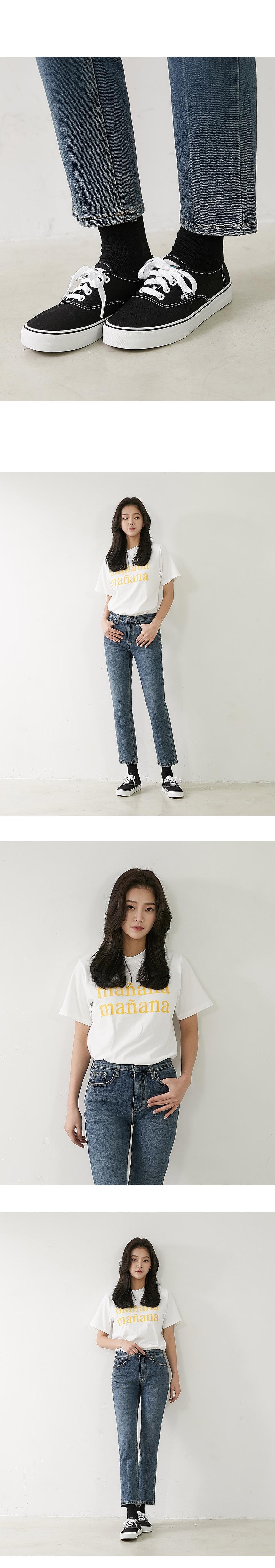 Amber denim pants