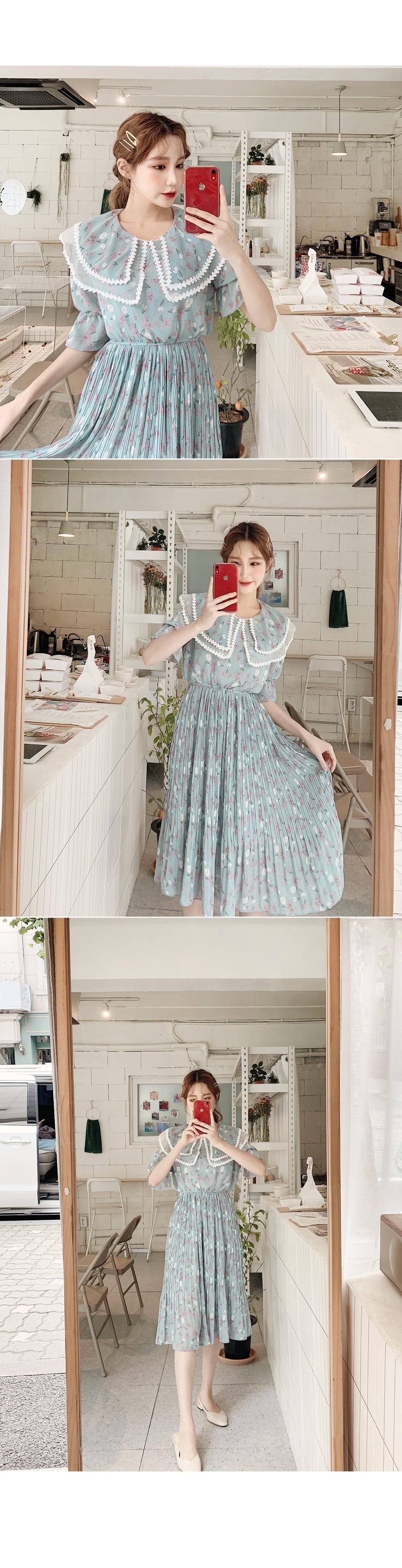 Full set of cute dress
