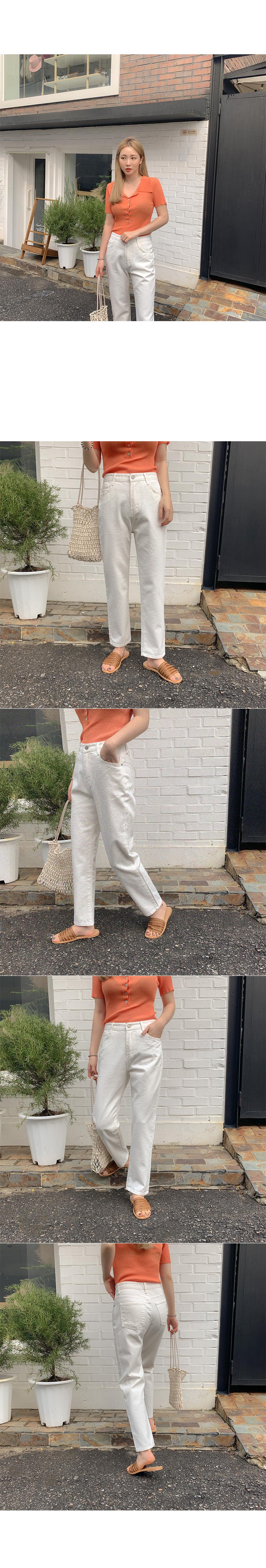 Renée Wide Cotton Pants