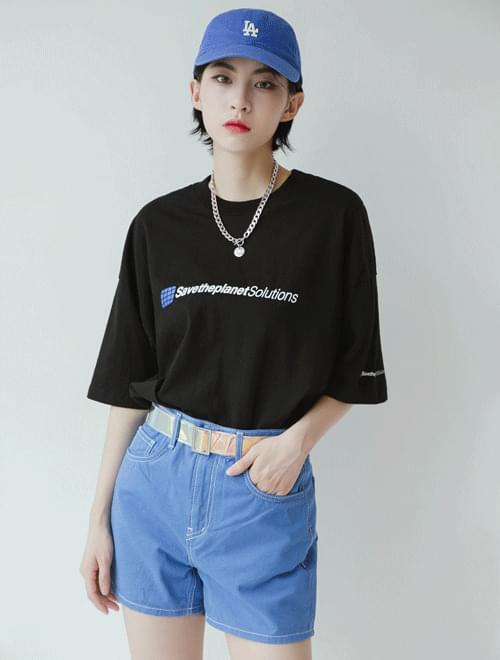 Colorful basic shorts