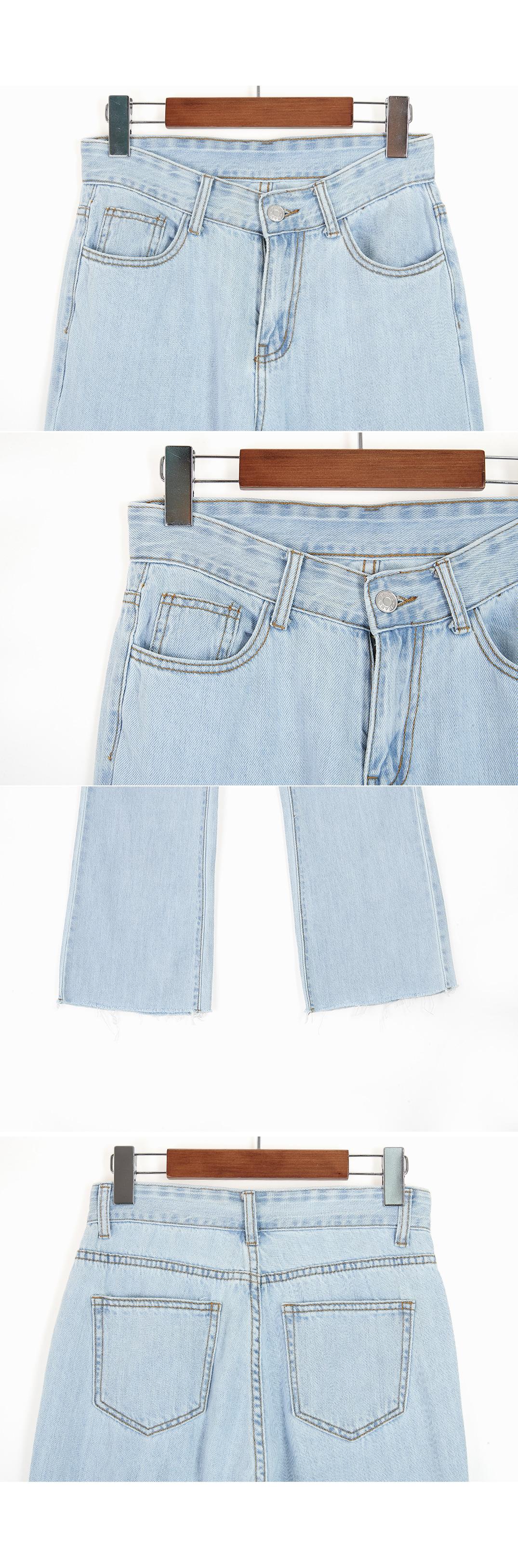 Senior high waist wide pants