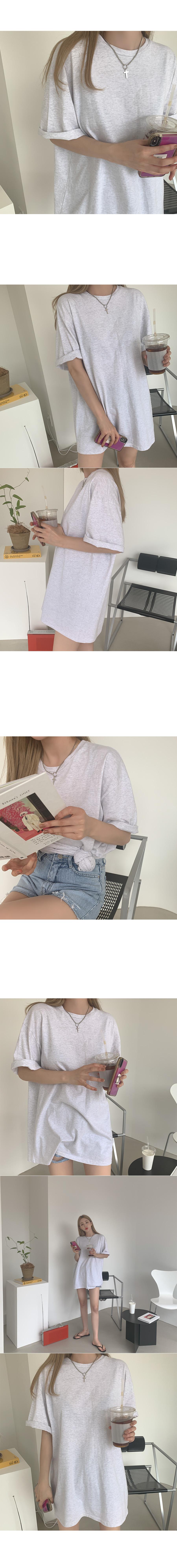 Leet boxy cotton short sleeve tee