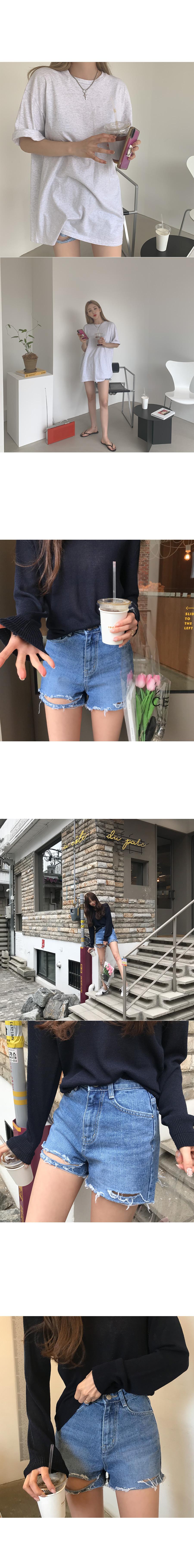 TaoTime denim shorts