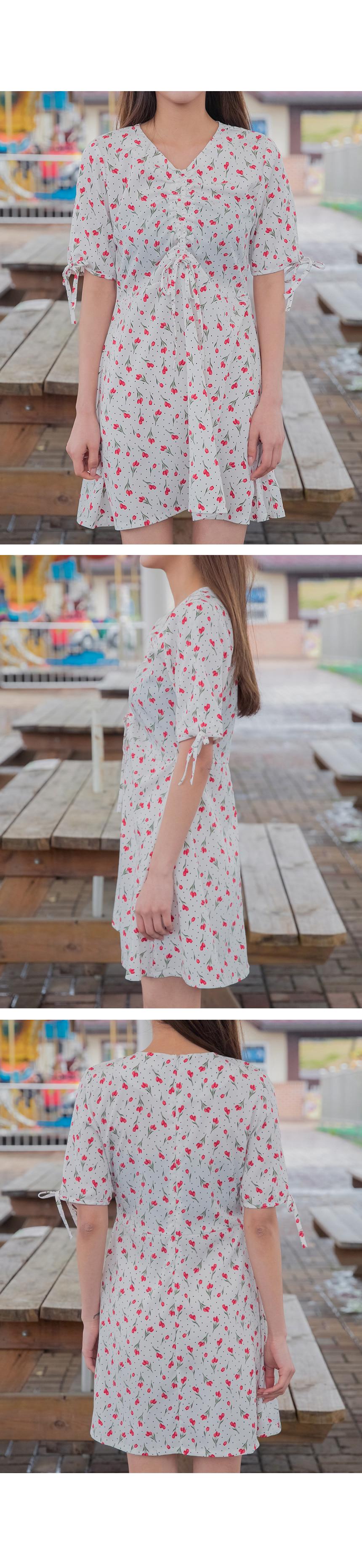 String Tulip Dress