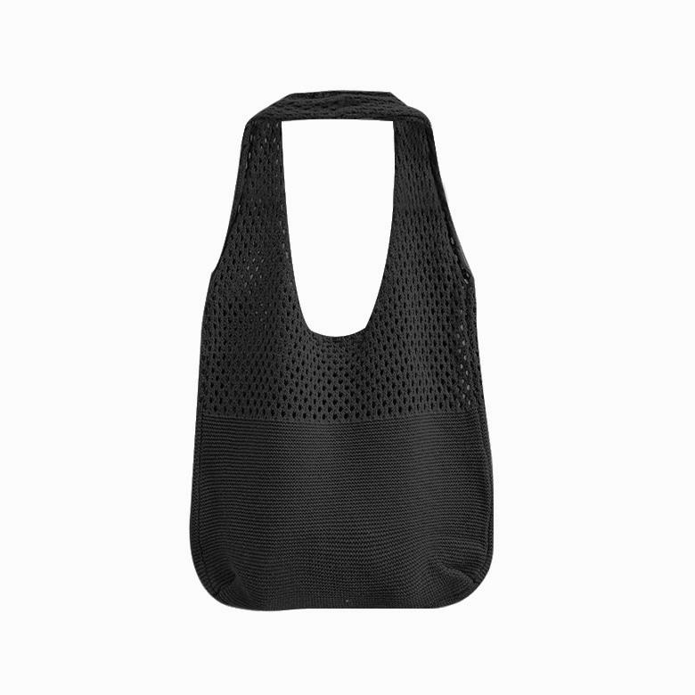 Burling knit shoulder bag