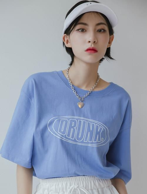 Drunken Half Sleeve T-shirt