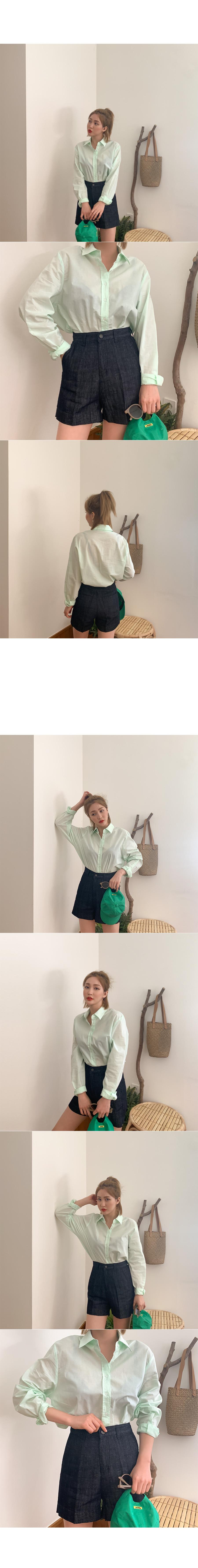 Ronis Color Cotton Shirt