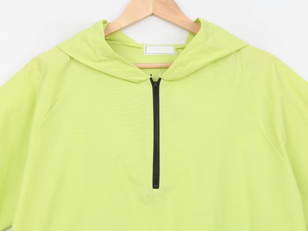 Never Meen short sleeve hoodie