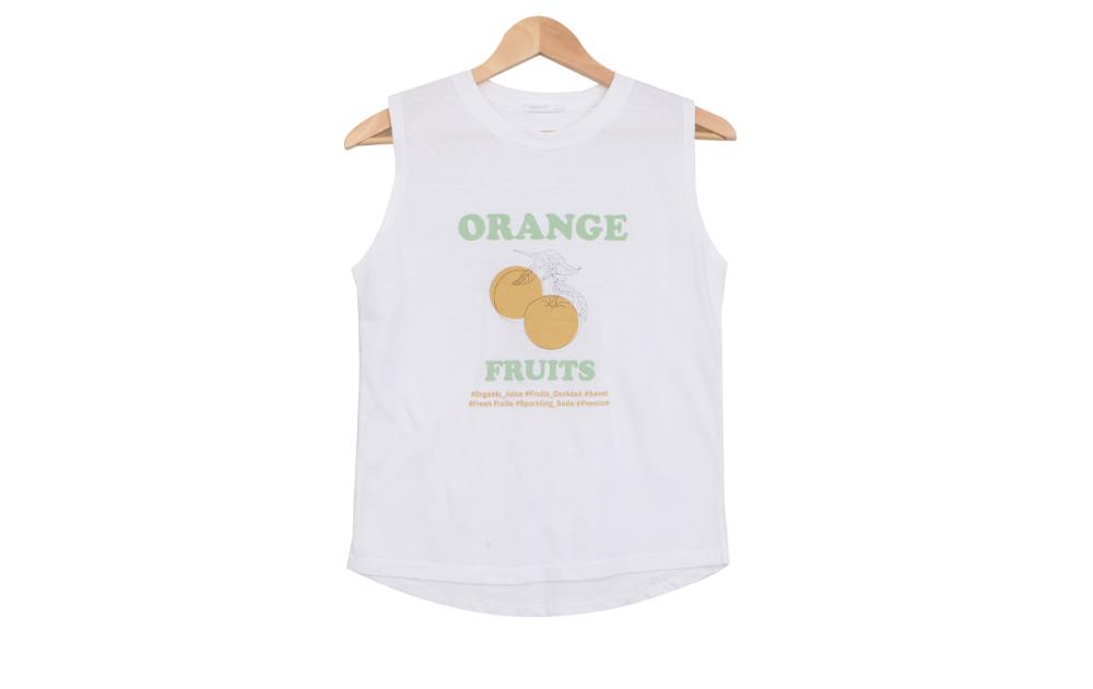 Juice orange nasi