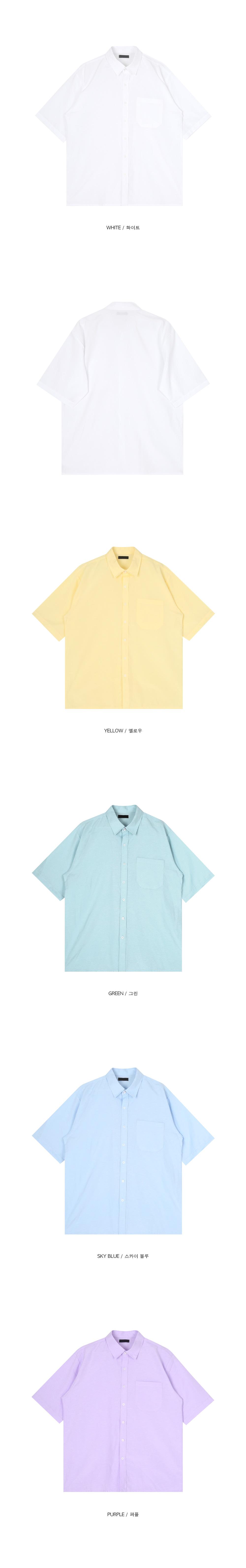 oxford 1/2 shirts - men