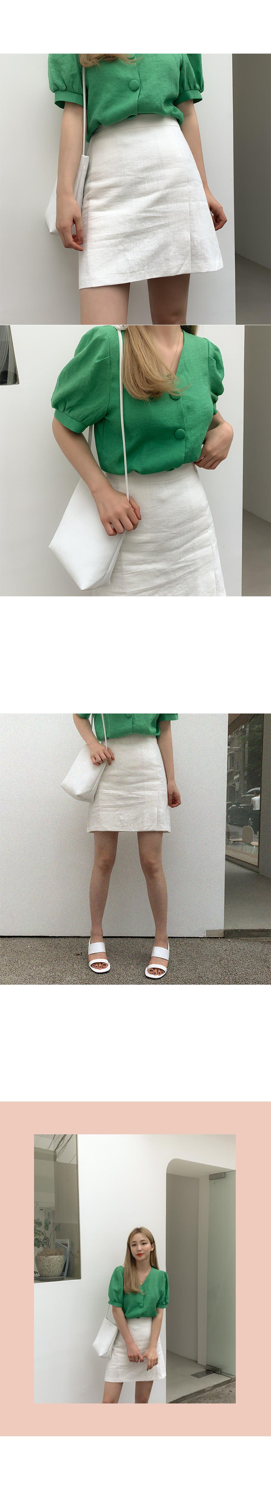 Novadi linen skirt