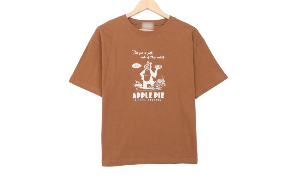 Apple pie bear short sleeve T