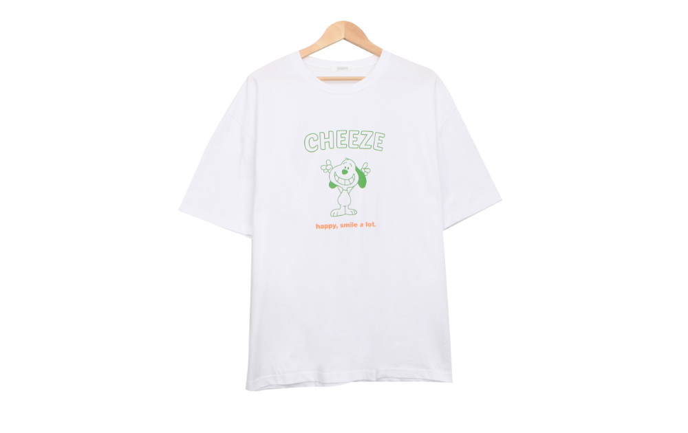 Cheese Puppy Short Sleeve T