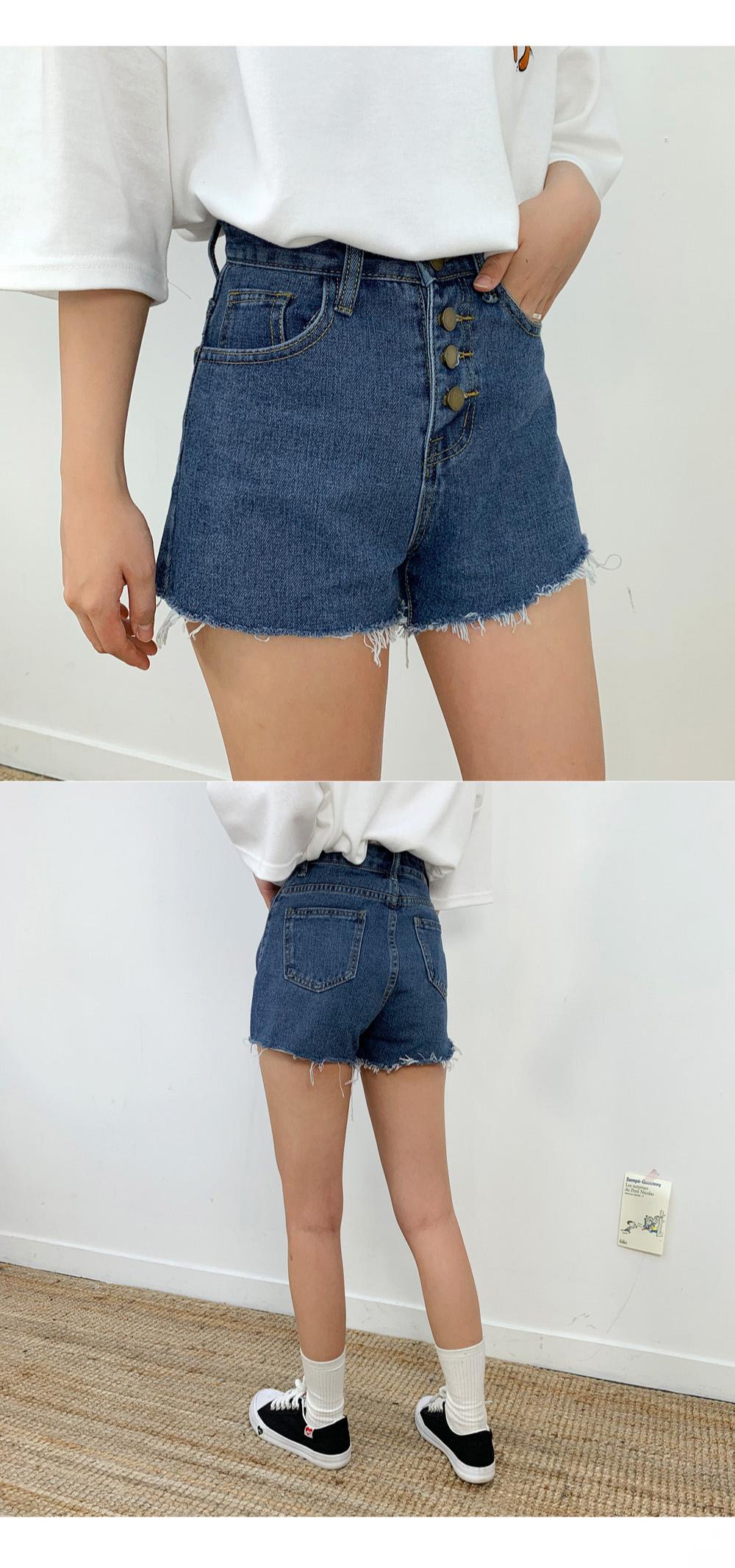 Short Button Short P