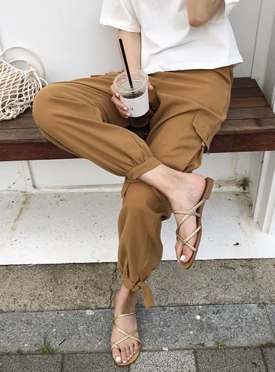 카우 조거 pants (*3color)
