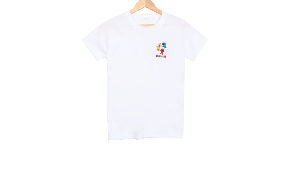 Shimi embroidery short sleeve T
