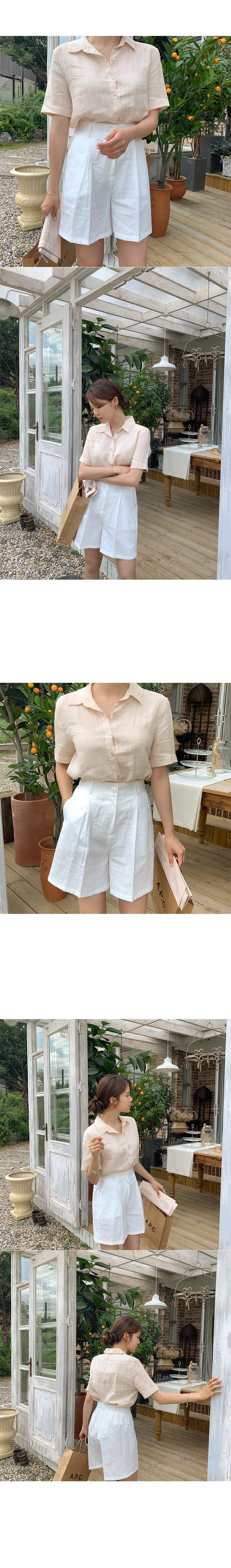 Shasha Lamikara short-sleeved shirt