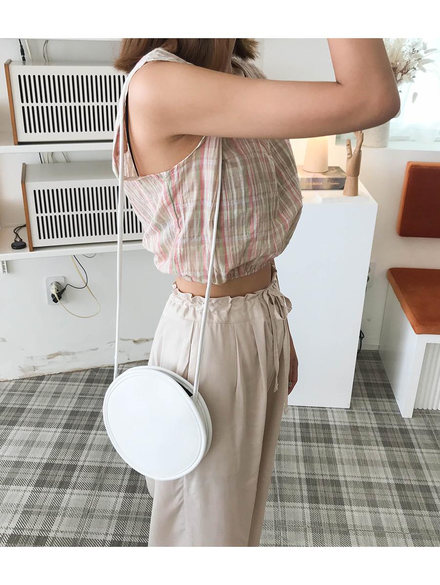 Borden round shoulder bag