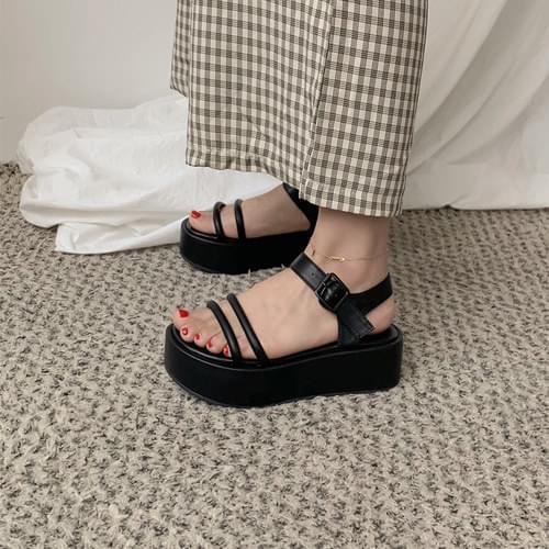 Platform Tongue Sandals