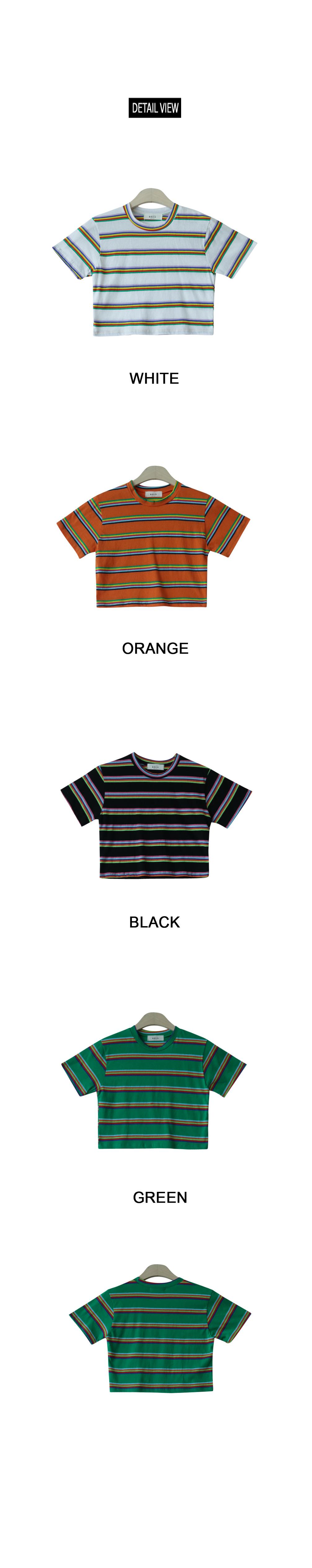 Rocky crop t-shirt