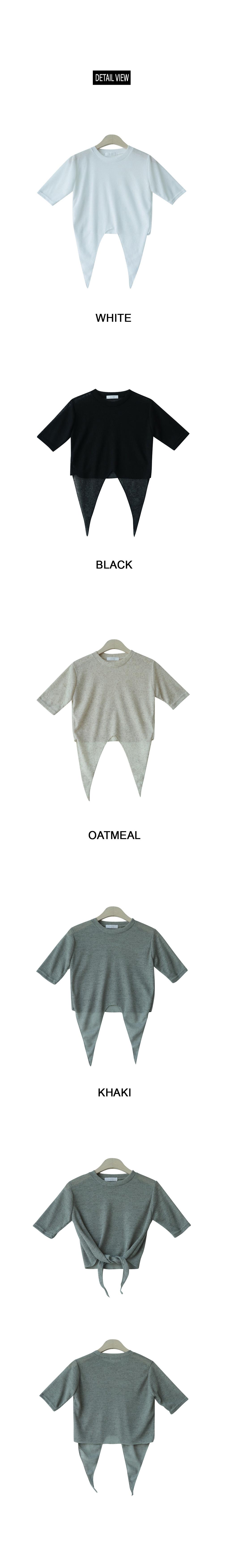 Beach crop t-shirt