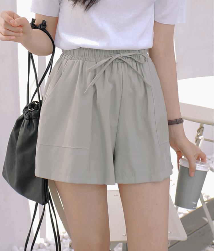 Chanel pocket short pants
