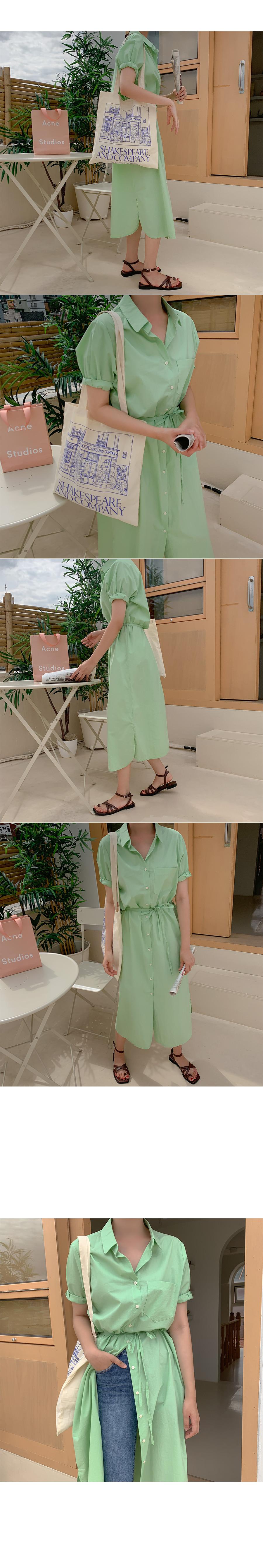 Nino Cotton Shirt Dress