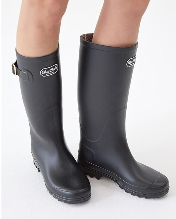 chuchu long rain boots (s, m, l)
