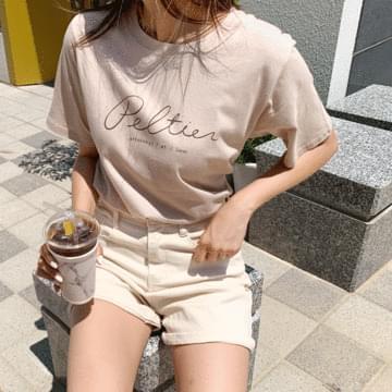 Peltier Lettering T-shirt