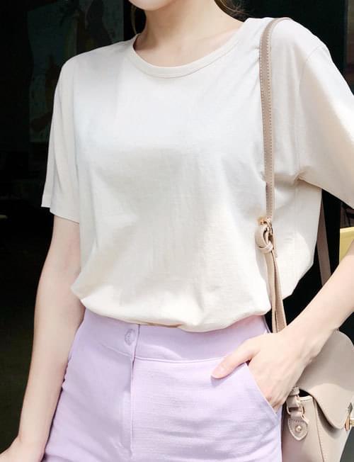 Basic Style T-shirt