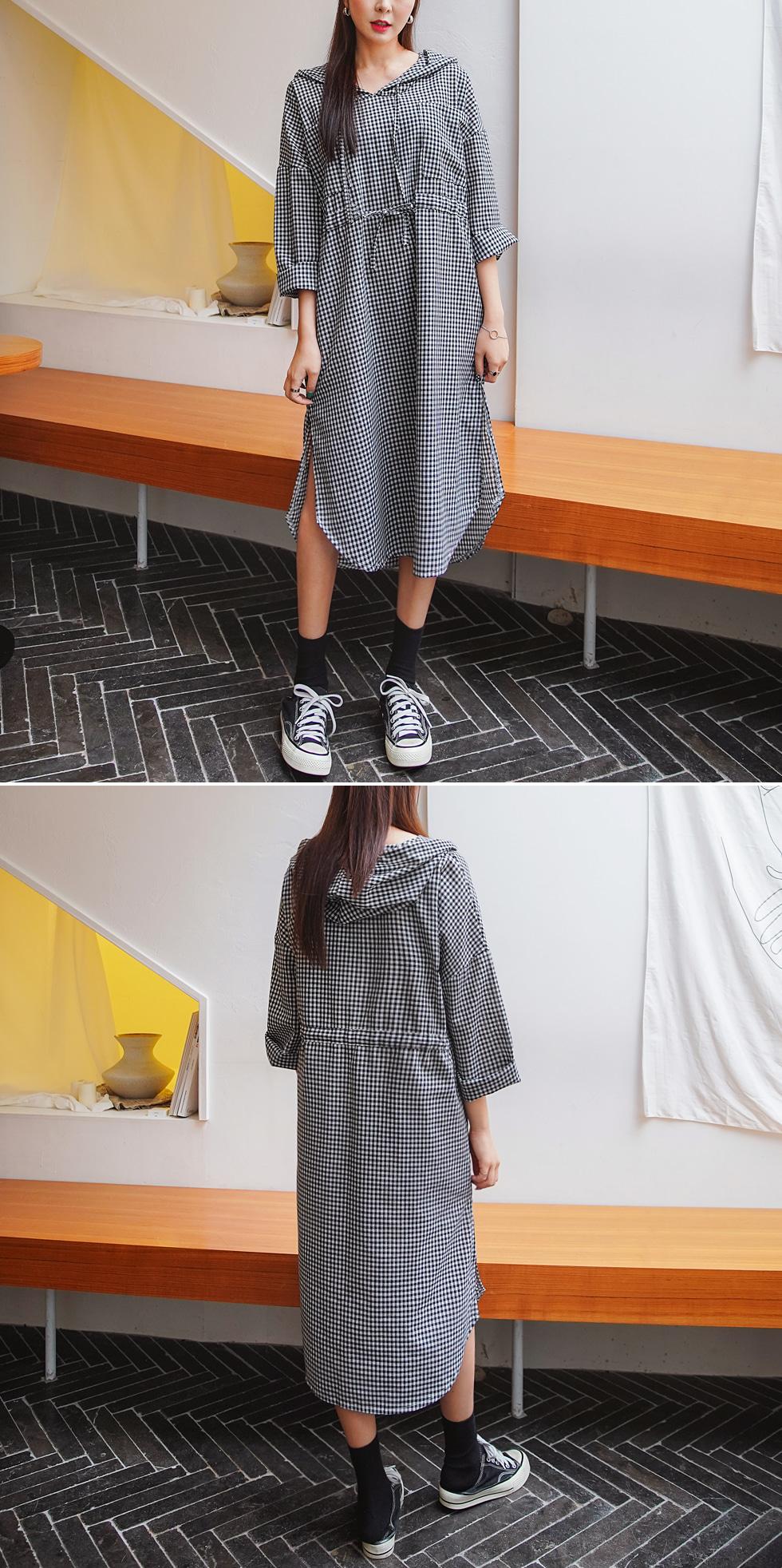 Check Girls Dress