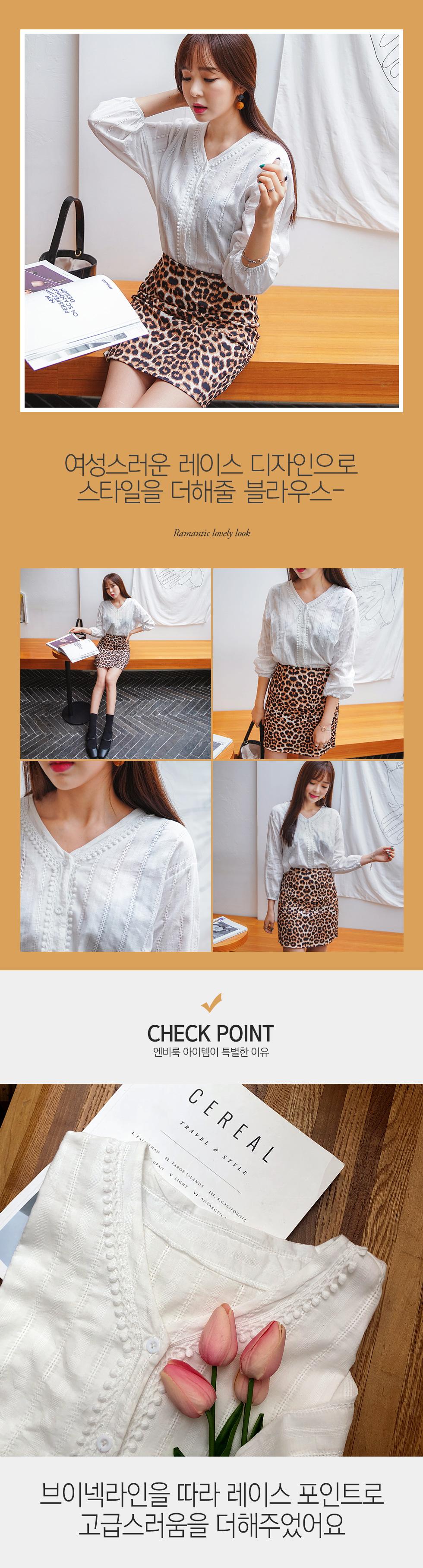 Candlelace blouse