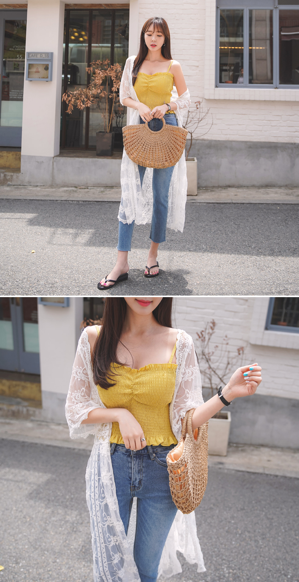 Beach Lace Robe