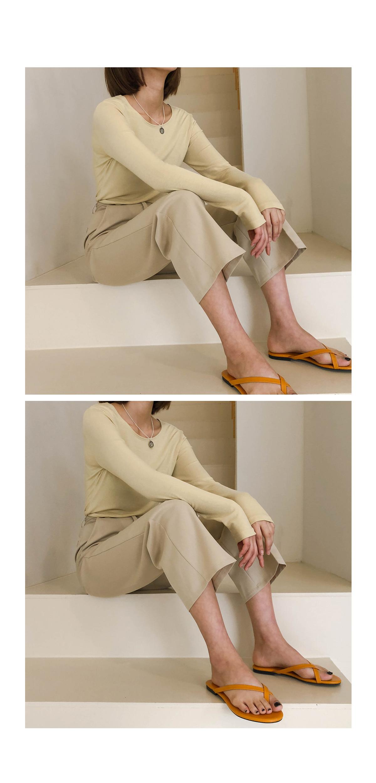 Semi Wide JPY Slacks Pants