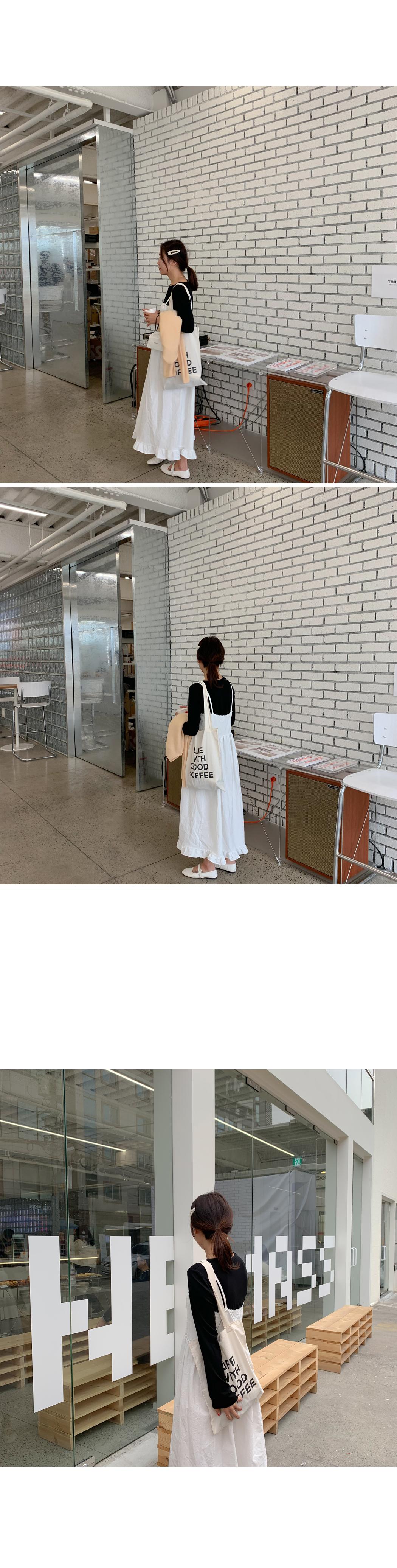 Baby pinch cotton long dress