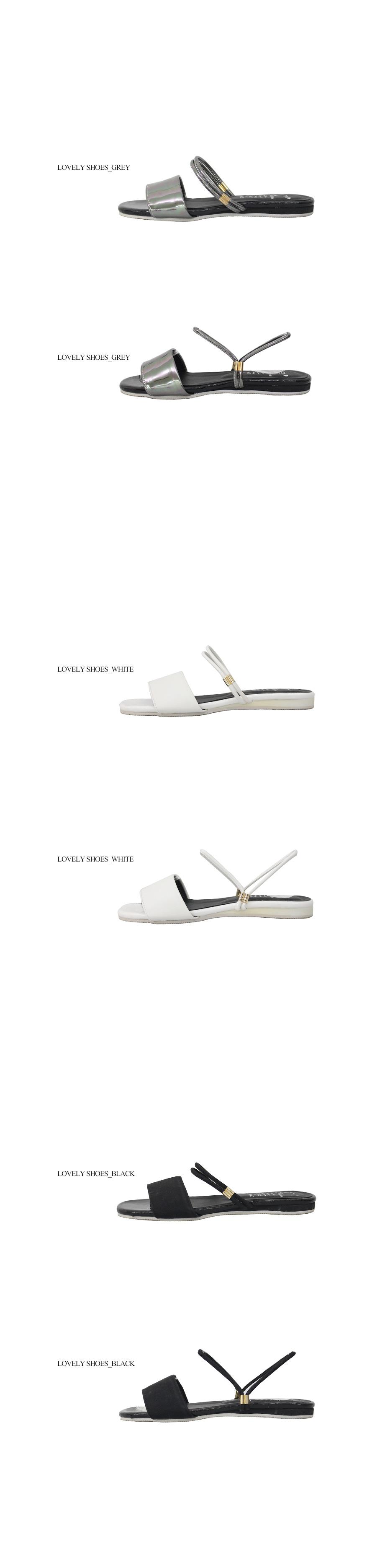 Beige Strap Sandals & Mules 2cm