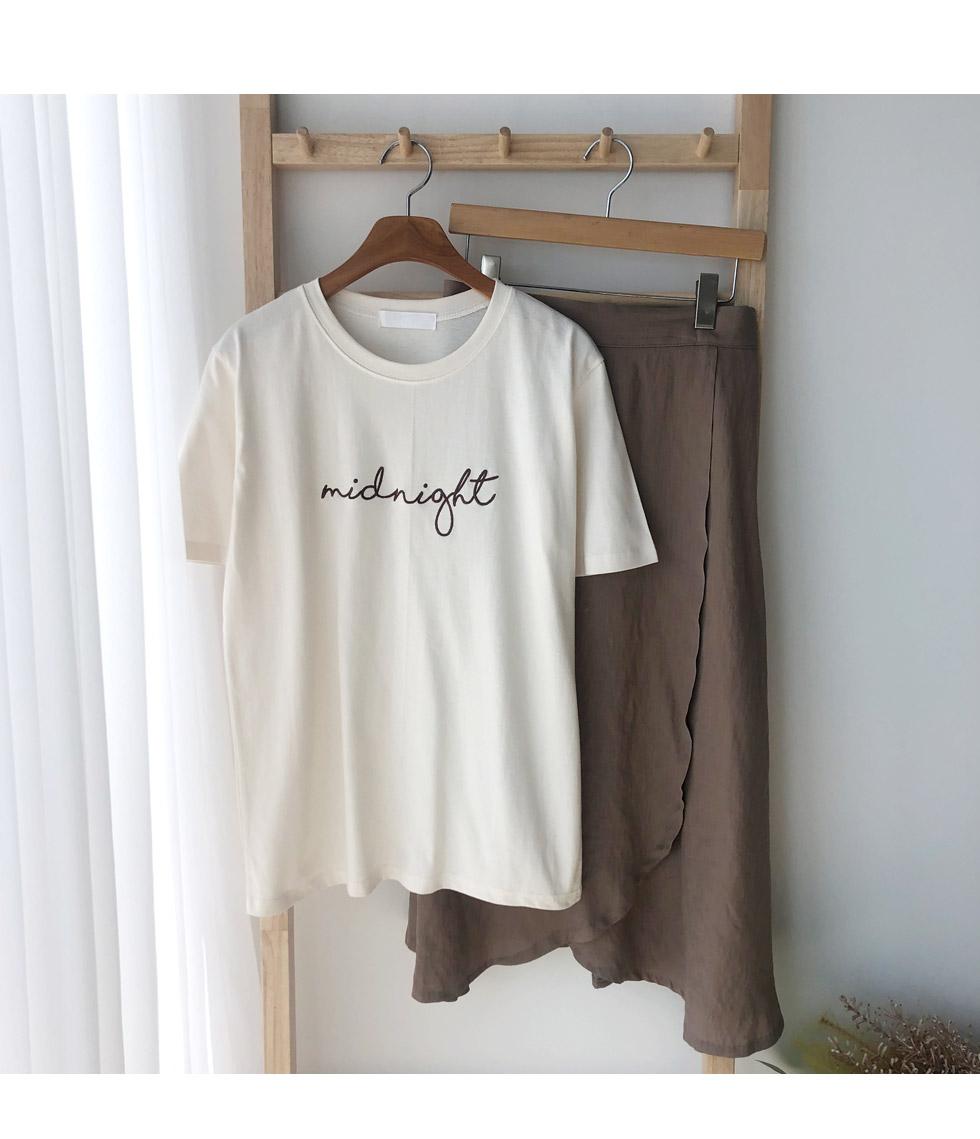 나잇자수티셔츠