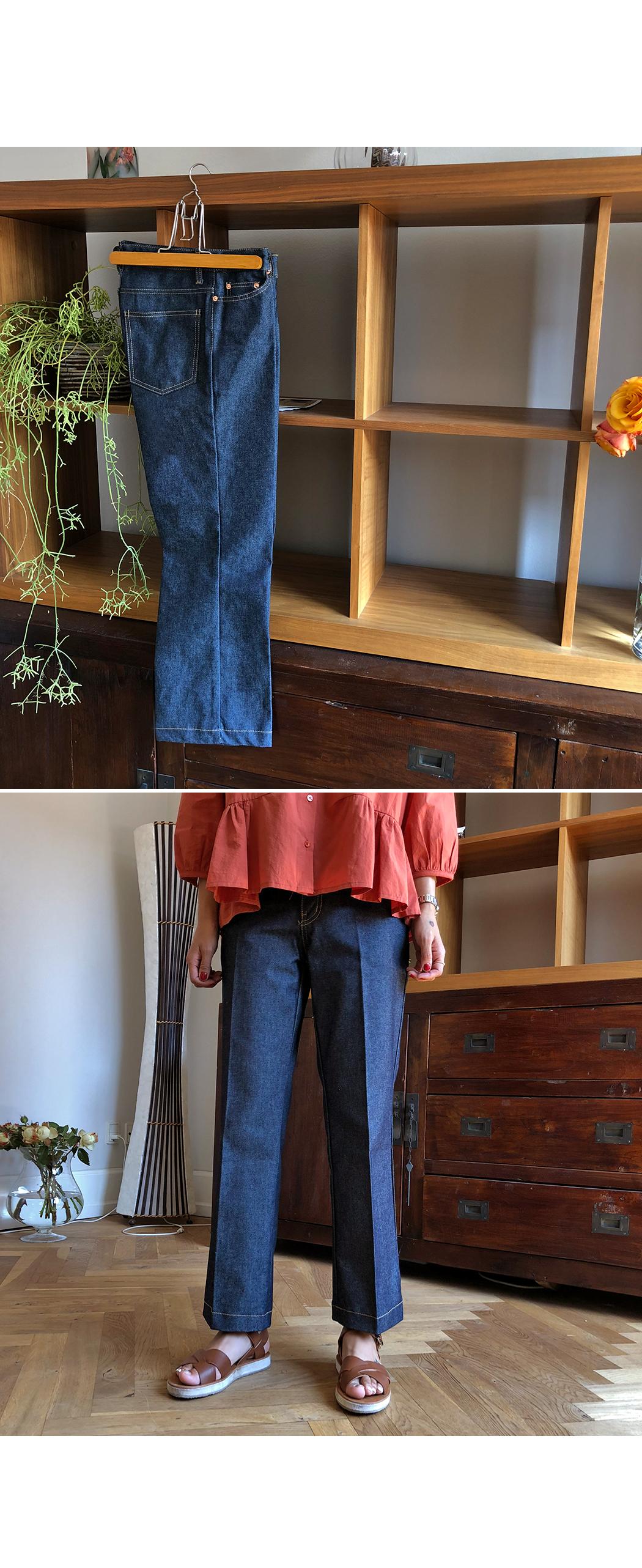 Pav - Fabric Date Wide Pants