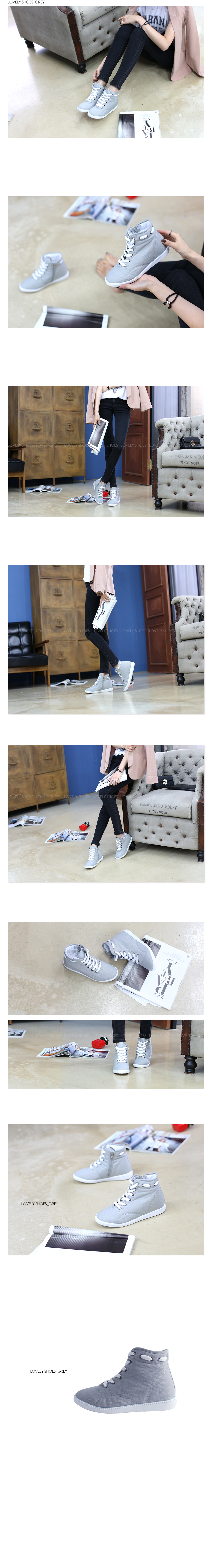 Rooney Dell High Top Sneakers 6.5cm