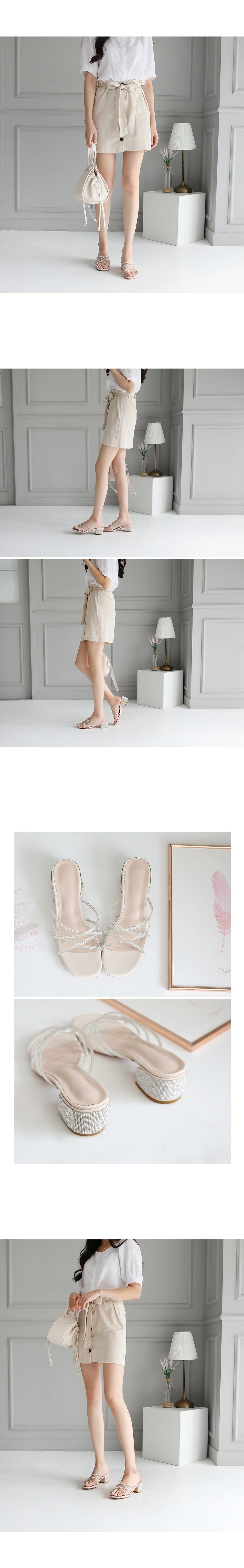 Steel mule slippers 5cm