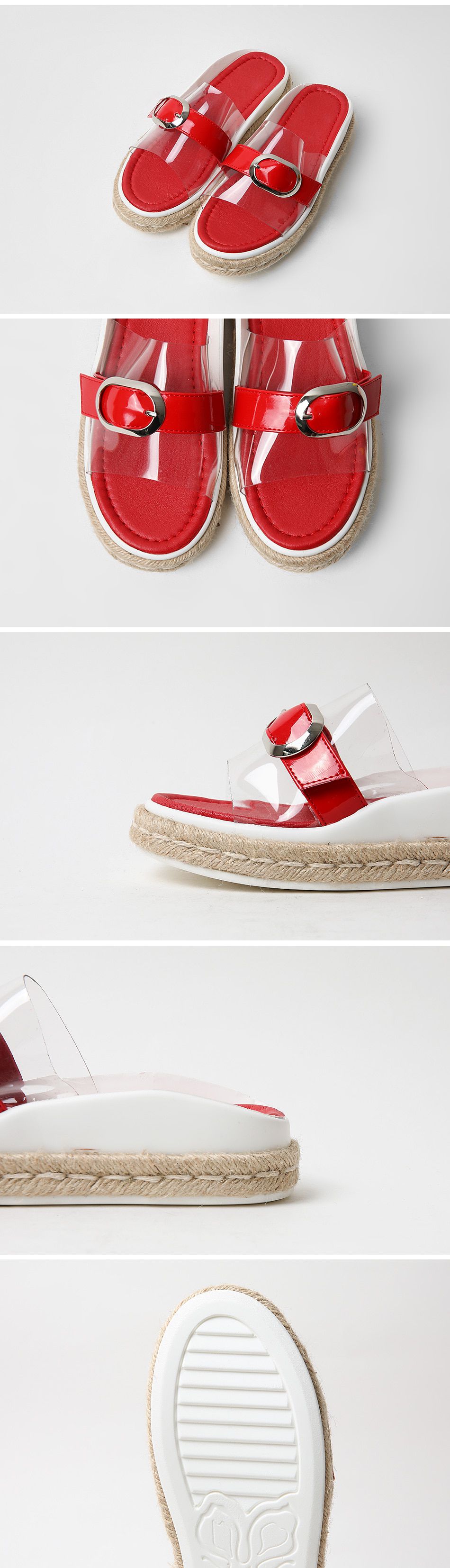 Renfia PVC Slippers 4cm