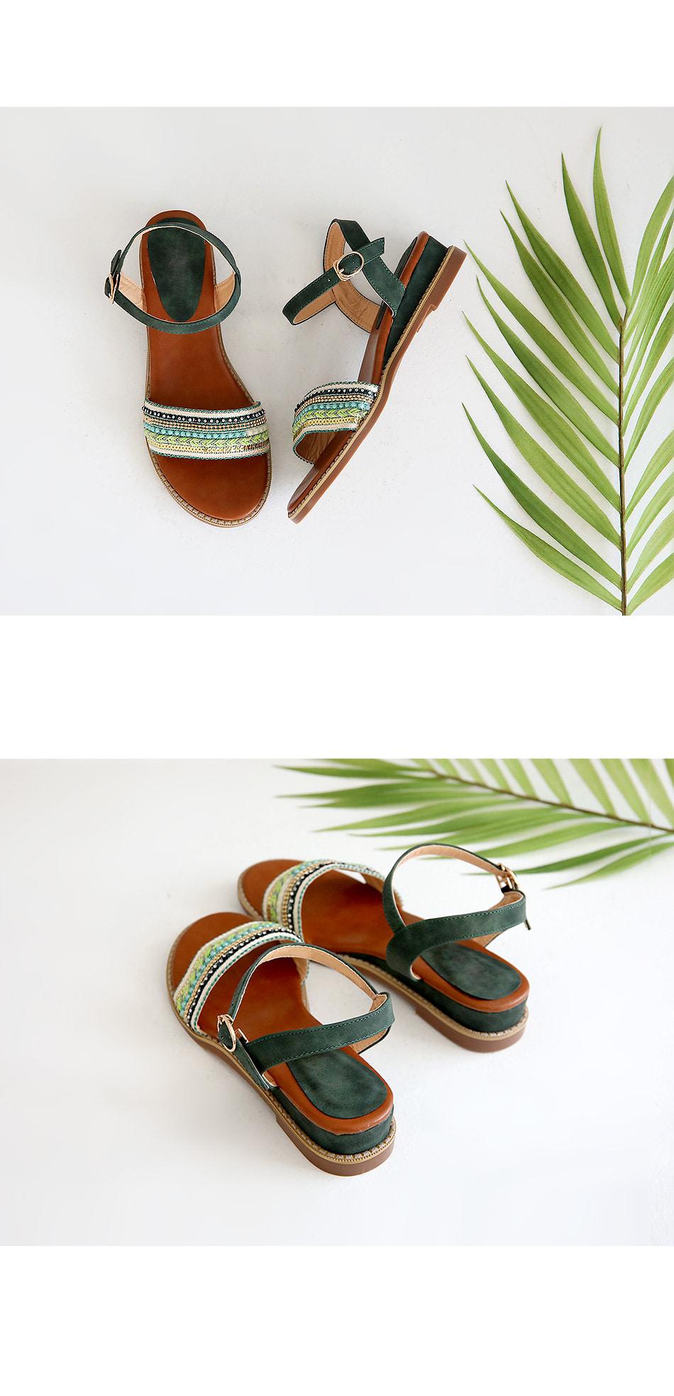 Ella strap sandals 3cm