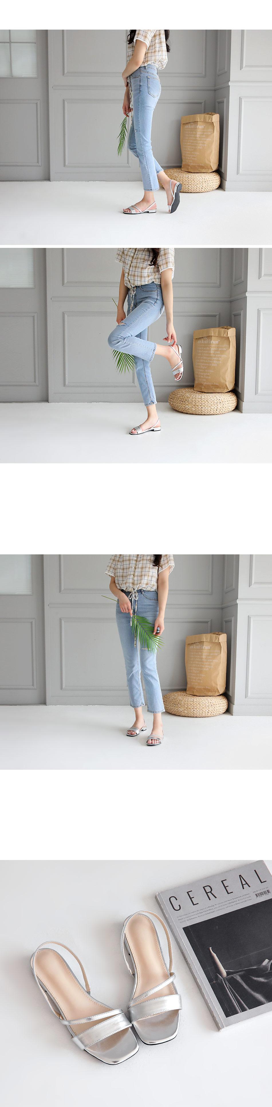 Rubian Slingback Sandals 2cm