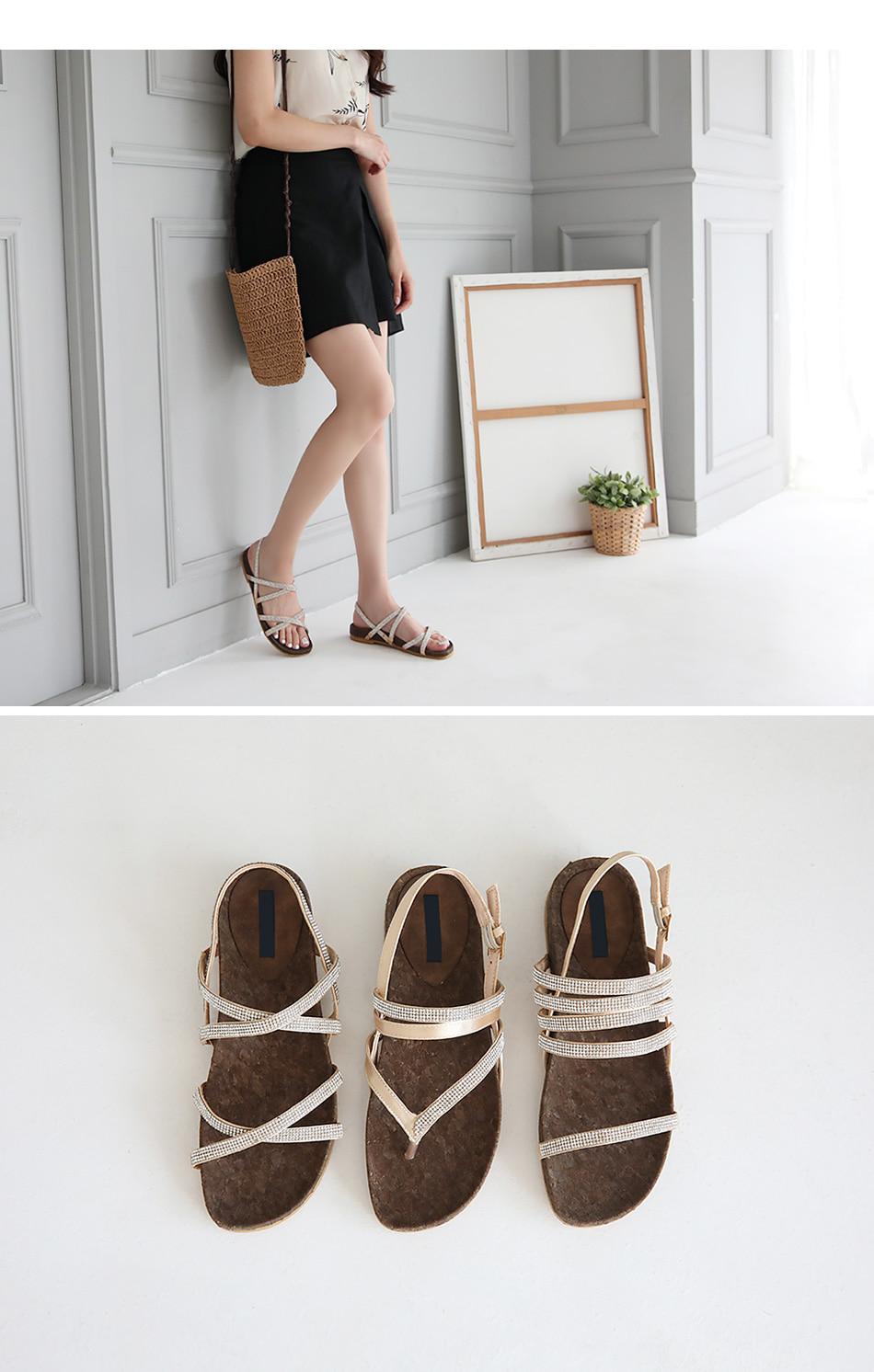 Ilian sling back sandals 2cm