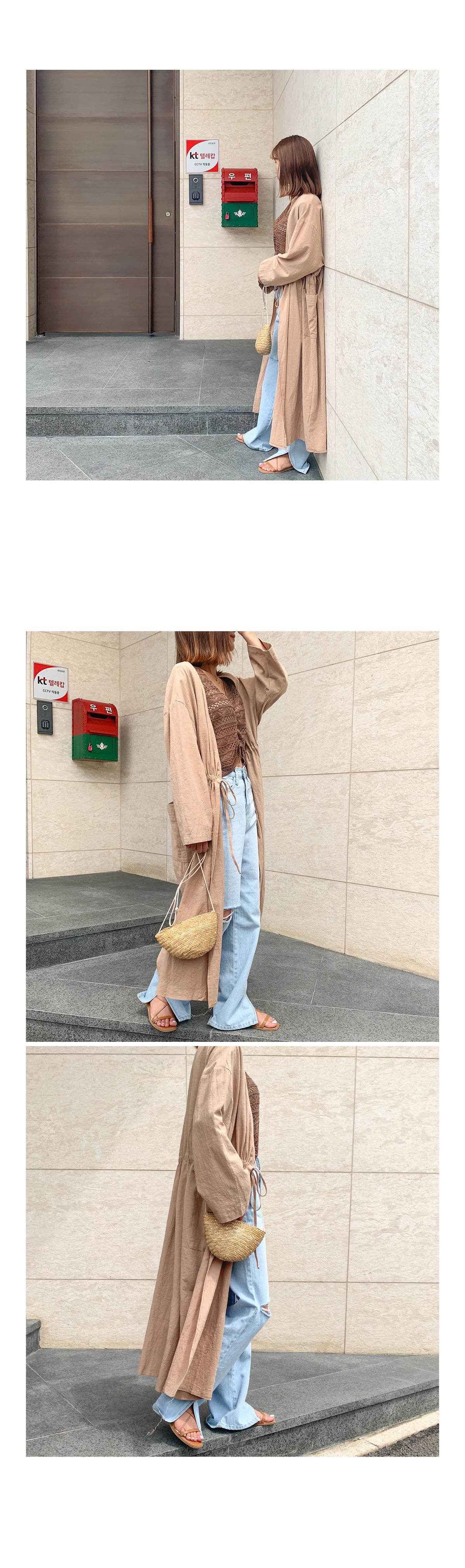 Linen fleece jacket
