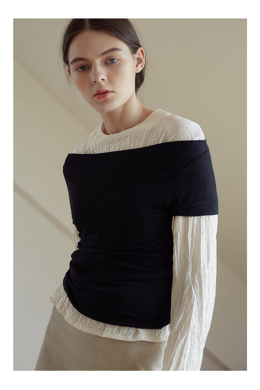 happy wrinkle blouse