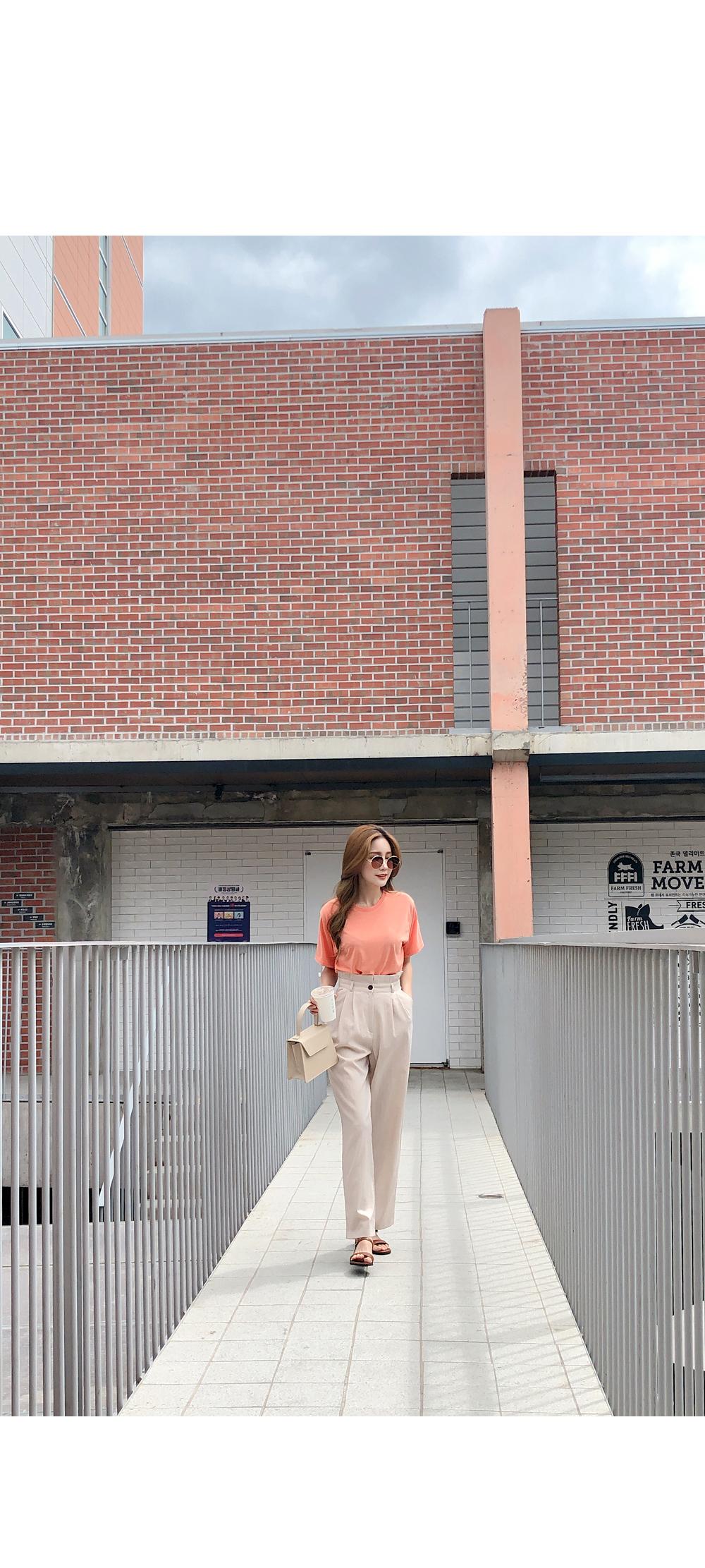Stylish pintle linen pants